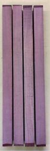 Purple-Heart-Amaranth-Drechselholz-Tonholz-Tonewood-600-x-40-x-40mm