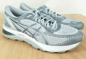 Asics-Gel-Nimbus-21-Gray-Athletic-Running-Shoes-Women-039-s-Size-11-Wide-1012A155