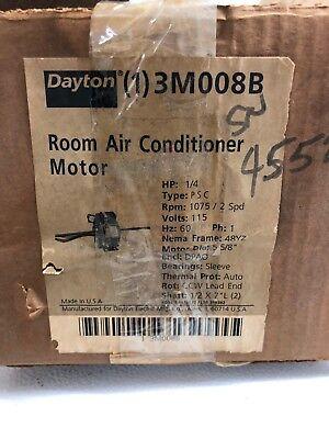 3M008 1//4HP 1075RPM NEMA 48Y FRAME 115V Dayton A//C Blower Motor
