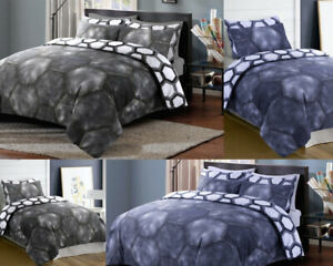 Denim-Print-Bedding-Duvet-Quilt-Covers-Set-With-Pillow-Cases-Single-Double-King