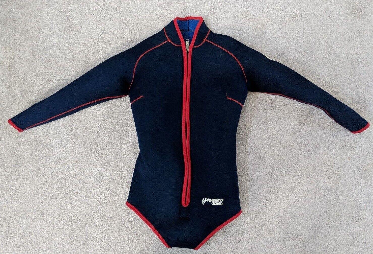 Women's Parkway Design Scuba Wetsuit Long Sleeve, Zip Front
