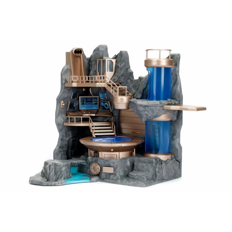 Batcave Nano Scène avec 2 Exclusif Figurines Jada 84410