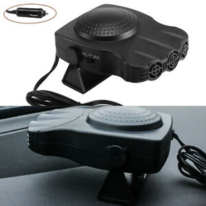 Portable-Car-Heater-Auto-Heater-Cooling-Fan-3-Outlet-Defrosts-Defogger-12V-150W