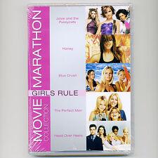 5 GIRLS RULE PG-13 movies, new DVDs Josie Pussycats Honey Blue Crush Perfect Man