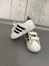 adidas Neo Boys' Baseline CMF INF Sneaker White/ 5 M US Toddler ...