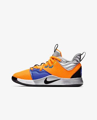 Nike YOUTH PG 3 NASA Paul George Orange