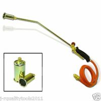 Propane Torch W/2 Extra Nozzle Ice Melter Weed Burner