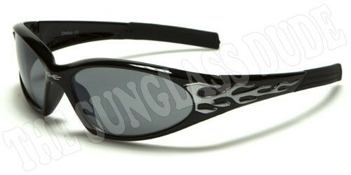 Sunglasses New Kids Sport Shades Wraps Xloop UV400 Boys Girls Black Silver KD29A