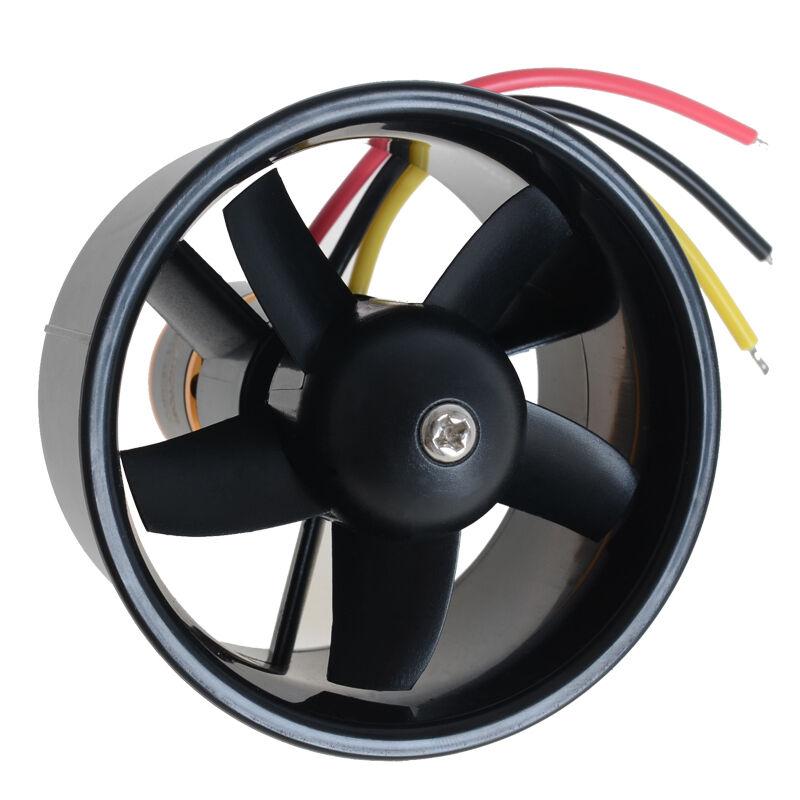 64mm duct fan 4500kv brushless outrunner motor kit for rc model edf jet airplane. Black Bedroom Furniture Sets. Home Design Ideas