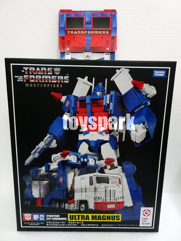 TAKARA Transformers Masterpiece MP-22 ULTRA MAGNUS action figure +Exclusive +Exclusive +Exclusive Coin e8553a