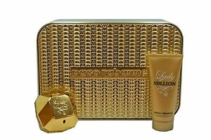 Image is loading PACO-RABANNE-LADY-MILLION-2-PIECE-GIFT-SET-