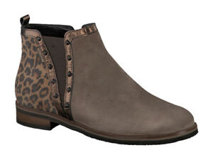 Ladies-Ankle-Boots-Mephisto-Paulita-Pewter-Light-Brown-UK-Sizes-7-amp-7-5