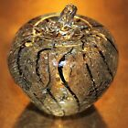 Murano Art Glass Gold Fleck Apple Paperweight