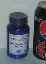 Niacinamide (Vitamin B-3), from Puritan's Pride >>100 tablets, 500 mg per tablet