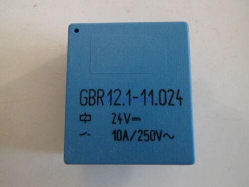 DDR GBR 12.1-11.024 24v 10a//250v relè ~ NUOVO * 1 pezzi *