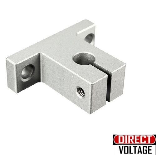 4pcs SK8 8mm Bearing CNC Aluminum Linear Rail Shaft Guide Support