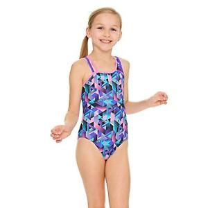 5b5d58672d Image is loading Zoggs-Kitch-Chaos-Crossback-Swimsuit-Purple-Multi