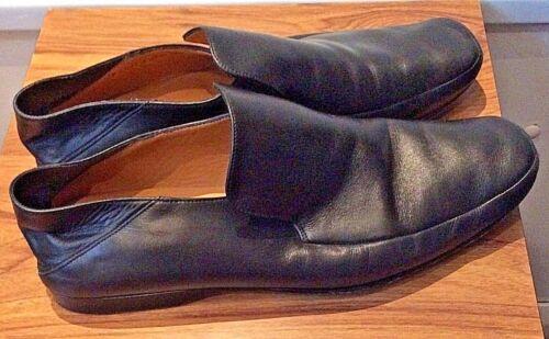 ~ 10 Bally Sko On Soft For Heel Black ~ Comfort Alle Slip swiss Uk Skinn Back d1ZH1n