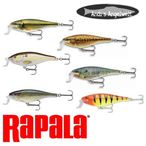 hechtwobbler-vari colori ssr-14 RAPALA Super Shadow rap 14cm-45g