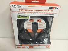 TRITTON AX 120 Black Headband Headsets