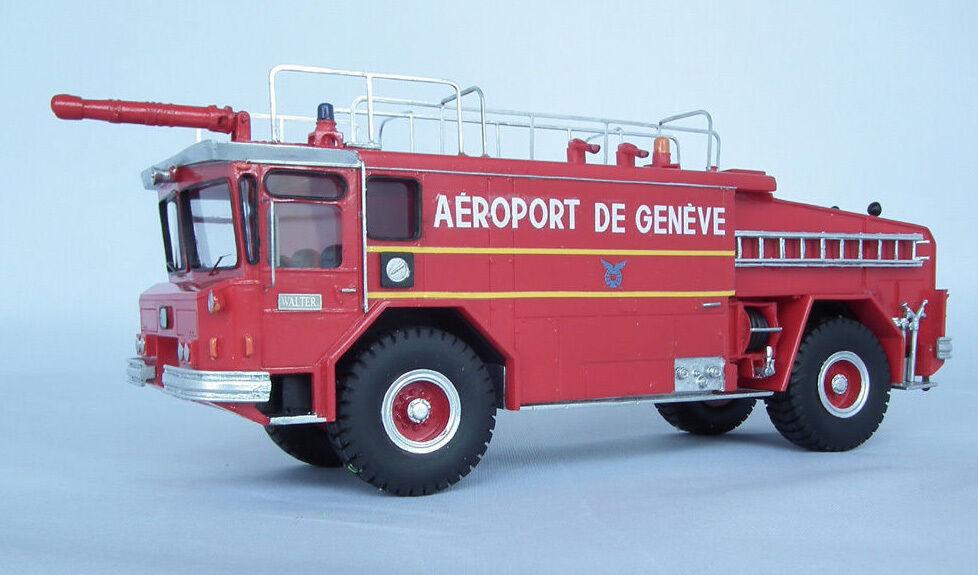 RESIN 150 YANKEE Walter Crash CAMION modelloLO CB3000 ARFFAeroporto GENEVE