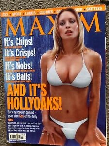 Maxim-Men-039-s-Magazine-July-2000-Hollyoaks-Special-Geri-Joanne-Taylor-Cover