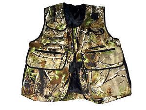 New-Falconry-Hunting-amp-Hawking-Camo-Waistcoat-Jungle-Wild-Full-Vest-All-Sizes