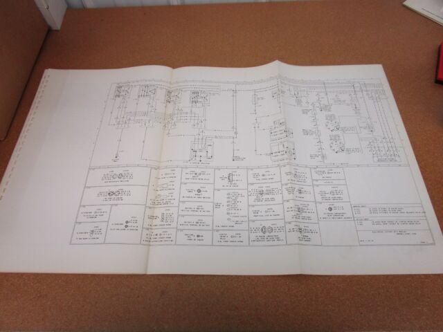 ORIGINAL 1975 Mercury Marquis wiring diagram SHEET ...