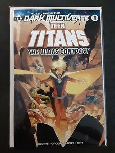 Teen titans the judas contract comic book
