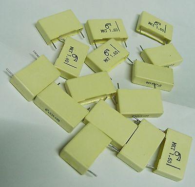15 x Arcotronics MKT-R60-MN-3330-BM00K 330nF 400V polyester capacitor 0.33uf