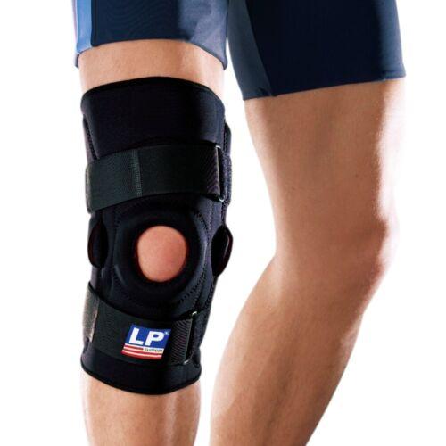 LP Support Knie-Orthese, Knieschiene 710 mit Gelenk-Schienen, Kniestütze, XS-3XL