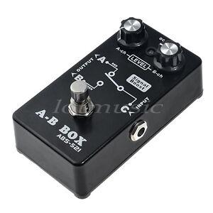 belcat abs 521 guitar effect pedal a b box amp amplifier switcher switch rohs 634458201339 ebay. Black Bedroom Furniture Sets. Home Design Ideas