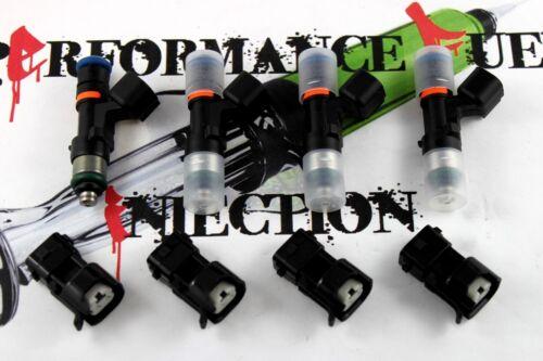 4 NEW 1000cc BOSCH EV14 Fuel Injectors 16-17 Honda Civic K20C LX EX Type R