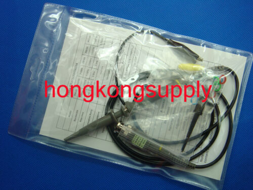 2x 200 MHz Oscilloscope Portée Analyseur Clip Probe Test Leads Kit Pour HP Tektronix