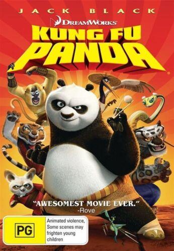 1 of 1 - Kung Fu Panda (Dvd) Family, Action, Adventure, Comedy Jack Black, Angelina Jolie