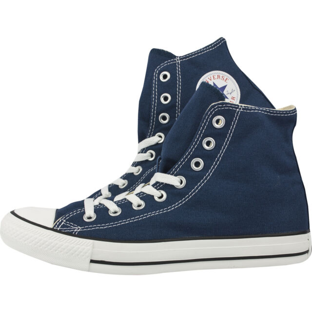 8b002e34b350 Converse Classic Chuck Taylor All Star Navy HI High Tops Trainer Lace Up  NEW