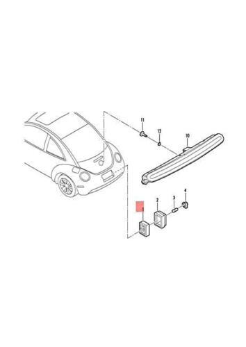 Genuine Licence Plate Light Right VW Beetle Cabrio 1C1 1C9 1Y7 9C1 9G1 1C0943126