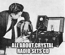 Crystal Radio Sets Germanium Diode Projects Ham Schematics Wireless Books on CD