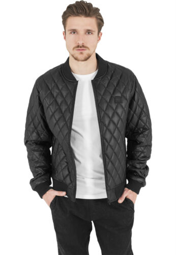 Urban Homme Veste Classics Leather Diamond Couette Imitation Tb1150 AqABE7Oxn
