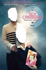 SEX CRIMINALS #11 2ND PRINT SKETCH ART COVER IMAGE COMIC BOOK NEW 1