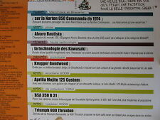 FASCICULE JOE BAR TEAM N°106 TRIUMPH 900 THRUXTON / BSA B14 / KRUGGER GOODWOOD