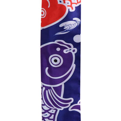 70cm japanische Karpfen Spray Windsack Streamer Fisch Flagge Koinobori KiteZJP