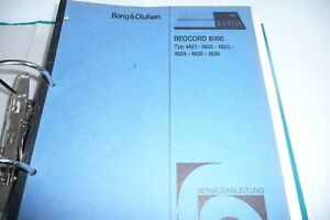 bang and olufsen beocord service manuals