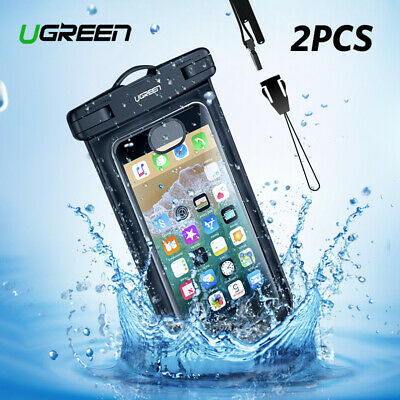 buy popular 673f0 142eb Ugreen Universal Waterproof Phone Bag Underwater Dry Case Pouch for ...