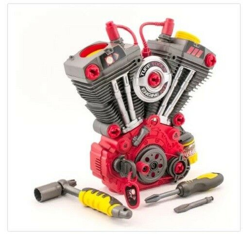 Light & Sound Engine Builder Set Interactive Mechanic Kids Toy Educational Motor