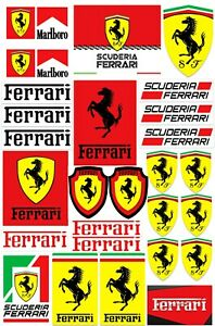 27-VINYL-STICKERS-FERRARI-SCUDERIA-AUTO-MOTO-RACING-RALLY-SPORT-CAR-TUNING-D-1