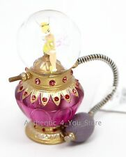 NEW Disney Parks Tinker Bell Perfume Bottle Snowglobe Snow Globe Tinkerbell
