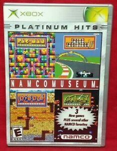Namco Museum Original OG Microsoft Xbox Game Complete 1 Owner Near Mint Disc