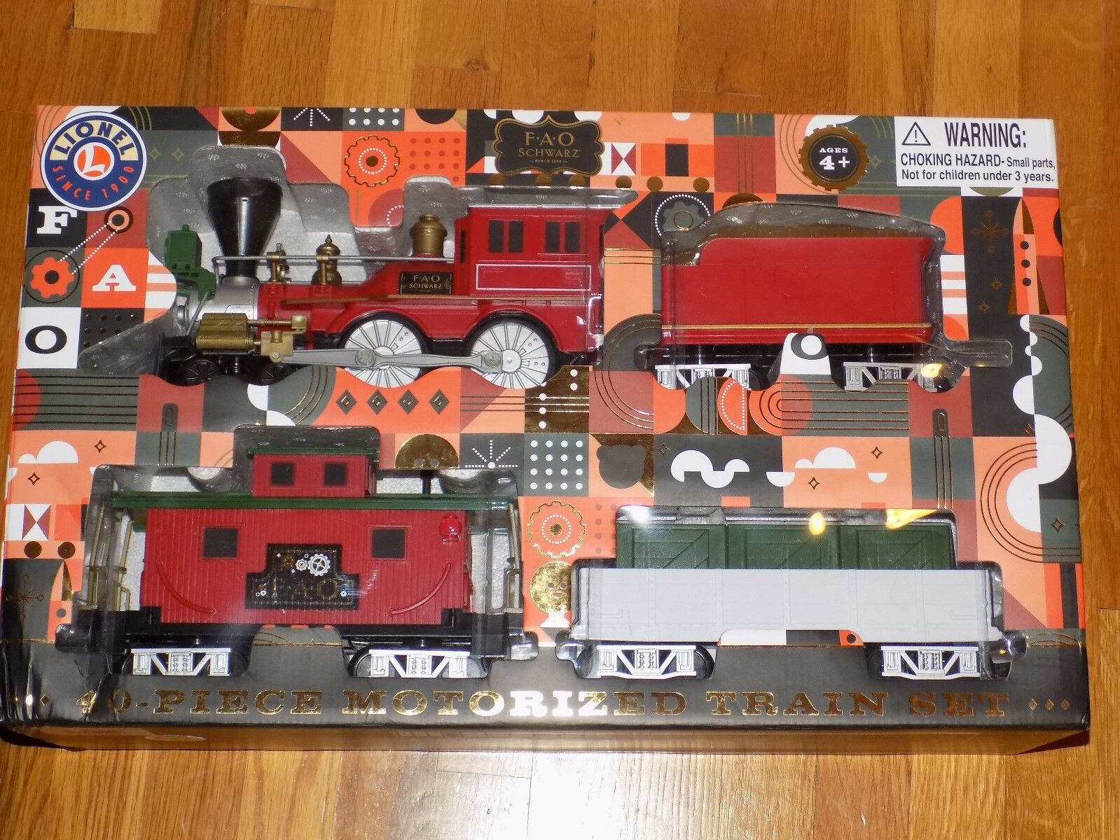 Lionel FAO nero- 40 Piece Motorized Train Set Set Set 0ca66e