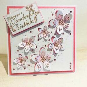 Blumen Metall Stencil Cutting Dies Scrapbooking Stanzschablone Karten Handwerk